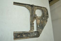 Nos Mopar Mitsubishi Headlight Housing Well Structure Support Plate Body Panel