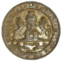 C.1910 St. Andrew's School Medal For Good Conduct And Attendance •••• Northampton