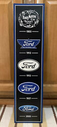 Ford Coupe Hot Rod Model Gas Oil Wall Decor Parts Auto Bar Pub Vintage Style