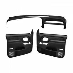 Coverlay Black Interior Accessories Kit 18-695c59f-blk For 95-96 Chevy Gmc