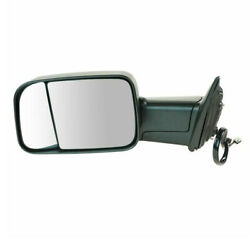 Ram 1500/2500/300 Truck Tow Mirror Power Heated W/signal, Puddle Lamp Left Side
