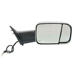 Ram 1500/2500/300 Truck Tow Mirror Power Heated W/signal Puddle Lamp Right Side