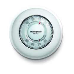 Honeywell Ct87k1004/e1 White 15v Round Heating Dial Thermostat 7 H X 9.2 W In.