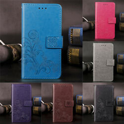 For Samsung A6 A7 A10 A20 A40 A50 A70 Note10+ Leather Magnetic Flip Wallet Cover