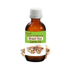 Brazil Nut Pure Natural Cold Pressed Carrier Oil Bertholletia Excelsa By Bangota