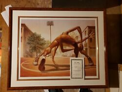 Kadir Nelson Art /one On One 635 Of 1000/ Edition Size 1000andnbsp