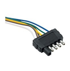 Draw-tite 2 / 4 / 5-way Connectors 5-flat 48 Trailer End Wiring Harness 118017