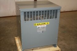 New Square D 112.5 Kva Transformer Ex45t6hct 480d 240d 3 Phase Step Up-down