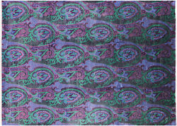 9and039 0 X 12and039 5 William Morris Handmade Wool Rug - P6908