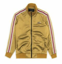 New W/tags Reason Brand Bowery Yellow Track Jacket Only Size S-xxl Msrp 60.00