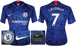 Laudrup 7 - 19/20 Nike Chelsea Home Shirt = Kids Size