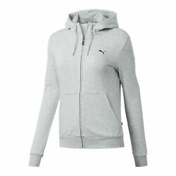 PUMA Women's Essentials Hooded Jacket $24.99