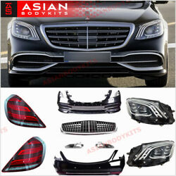 Facelift Kit For Mercedes Benz W222 Maybach S Class 2013 - 2017 Front Bumper