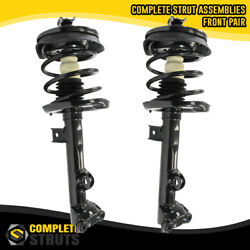 2002-2007 Mercedes C230 Rwd Front Pair Complete Struts And Spring Assemblies W203