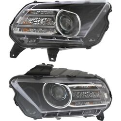 Fo2518113c, Fo2519113c Hid Headlight Lamp Left-and-right Hid/xenon Lh And Rh