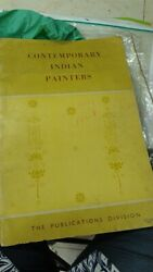 Old Vintage Contemporary Indian Painters Paintings Book From India 1970