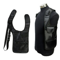 Hidden Tactical Hunting Pistol Holster Anti-Theft For Weapon Safety vest bag