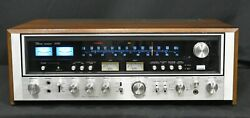 Vintage Sansui 9090 Receiver Serviced With Led Upgrade In Excellent Condition