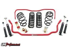 Umi Performance 67 Chevelle Suspension Handling Kit 1andrdquo Drop- Stage 1