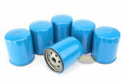 6 Pack Quincy Oil Filter Elements Part 110814-001 For Qr Series Air Compressor