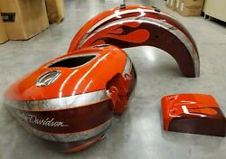 Harley-davidsonandreg Matching Fuel Tank Rear Fender And Electrical Cover