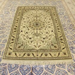 Clearance Yilong 4and039x6and039 Parlor Handmade Wool Rugs Handwoven Woolen Carpets 2116