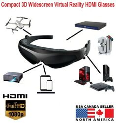 Compact 3d 169 Ratio Widescreen Fpv Video 1080p Hdmi Glasses For Android Iphone