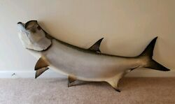 Monster Tarpon In Jumping Pose Great For Restaurants, Office Or Man Cave