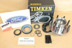Abs Wheel Hub And Seal Kit Ford F250 F350 99-04 Timken Spicer Oem Free Shipping