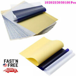 10/25/50/100 Sheets Tattoo Transfer Paper Pattern Carbon Thermal Stencil Papers