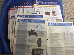Lot 56 + 1 Index Kovels Antiques And Collectibles Newsletters 2010-2017 And 1994