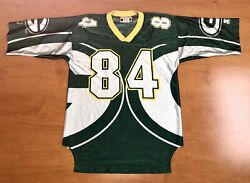 Vintage 1996 Andre Rison Green Bay Packers Big Logo Starter Jersey Favre Rodgers
