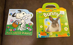 Peanuts Meet The Easter Beagle Board Book Pick Me Up Bunny Board Book New