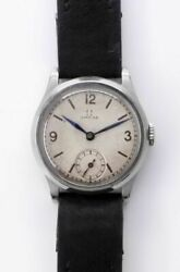 Omega Small Second 9103723 Cal. 26.5 Sob Manual Vintage Watch 1928and039s Overhauled