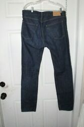 Levi's Made & Crafted Men's Jeans Thumbtack 36  X 34 Dark Blue Wash Straight