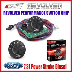 Edge Revolver 6 Position Switch Chip Blank For 95-97 Ford 7.3l Powerstroke Auto