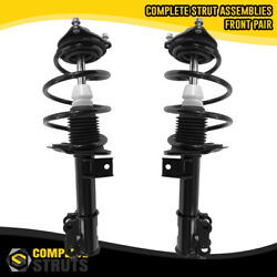 Front Pair Complete Struts And Coil Spring Assemblies For 2011-2014 Hyundai Sonata