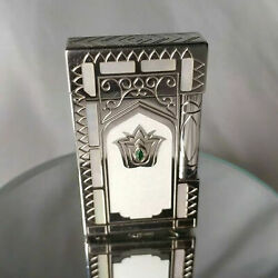 St Dupont Taj Mahal Limited Edition Platinum And Mother-of-pearl L2 Lighter
