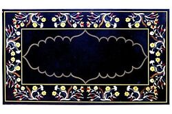 24x55 Marble Center Dining Table Top Marquetry Inlay Arts Hallway Decor H1540