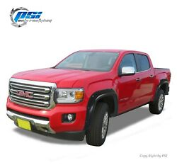 Pocket Bolt Fender Flares Fits Gmc Canyon 5and0391 Bed 2015-2020 Paintable Finish