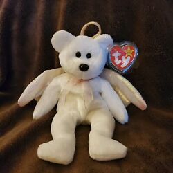 Ty Beanie Baby Halo Rare - Brown Nose - Swing Tag Error - Kept In Storage