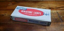 Vintage Eveready General Electric 1815 Miniature Lamps 14v 10 In Box