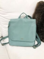 Fossil Preston Backpack In Seaglass Used Once