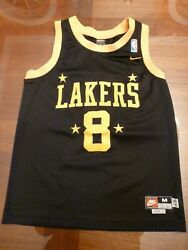 New Authentic Kobe Bryant Nike Team Nba L A Lakers Jersey 8 Youth Medium Unisex