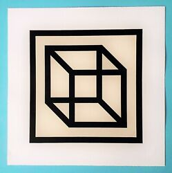 Sol Lewitt - Original Linocut - Handsigned And Numbered - Only 50 Copies