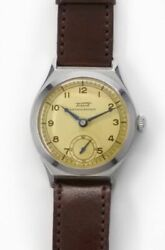 Tissot Small Second Blue Steel Hands Manual Vintage Watch 1937's Overhauled