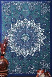2pc Twin Tapestry Blue Star Tapestry Home decor Wall Hanging Closet Tapestry
