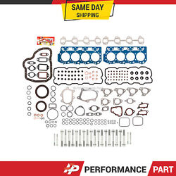 0.037and039 Thick Full Gasket Set Head Bolts For 01-04 Chevrolet Sierra Silverado 6.6