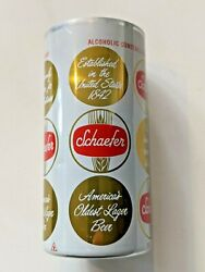 Rare One Of A Kind 1970's Schaefer Larger Beer Empty Factory Test Can, 10 Oz Can