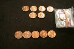 19 Superb Cherry Gem Red Lincoln Cents 14 34p 5 35d Should Be Certified
